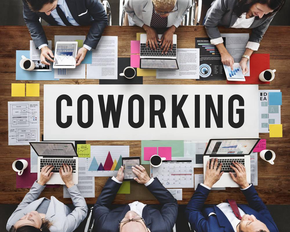 La tendencia de utilizar espacios de coworking