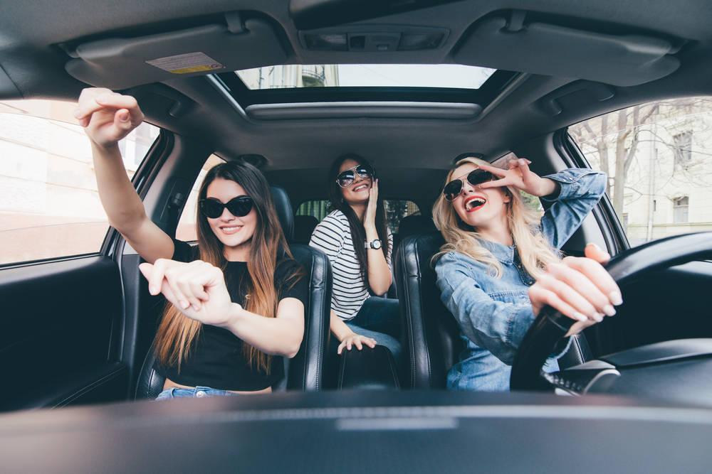 Vacaciones en coche compartido