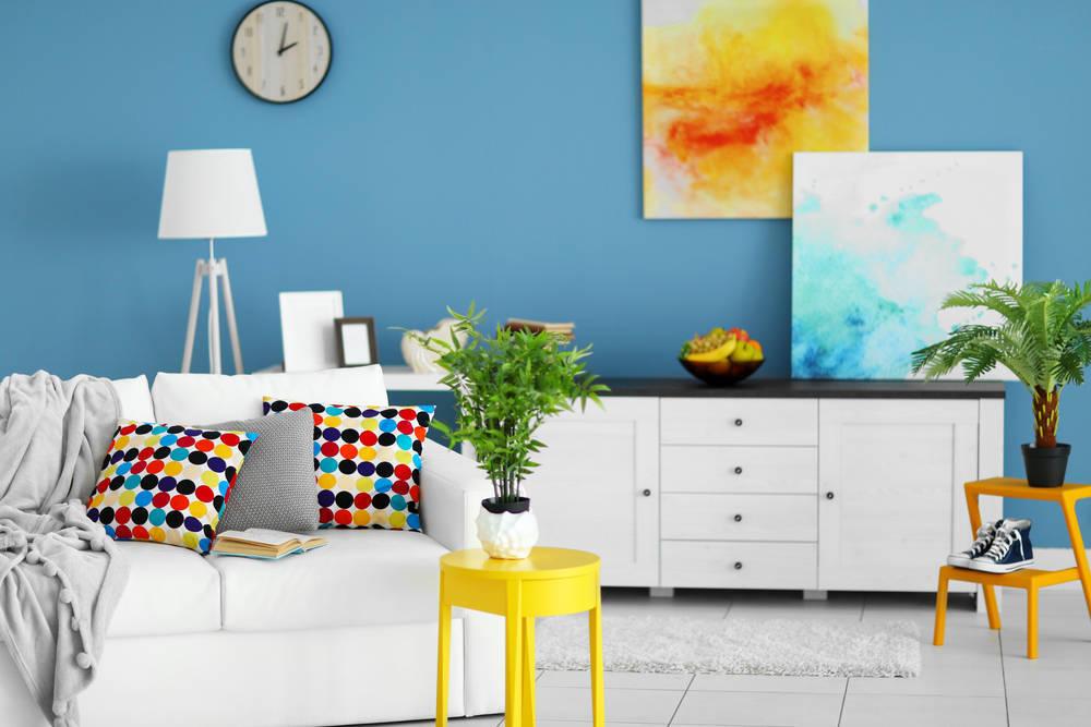 La decoración del suelo del hogar también sigue las tendencias