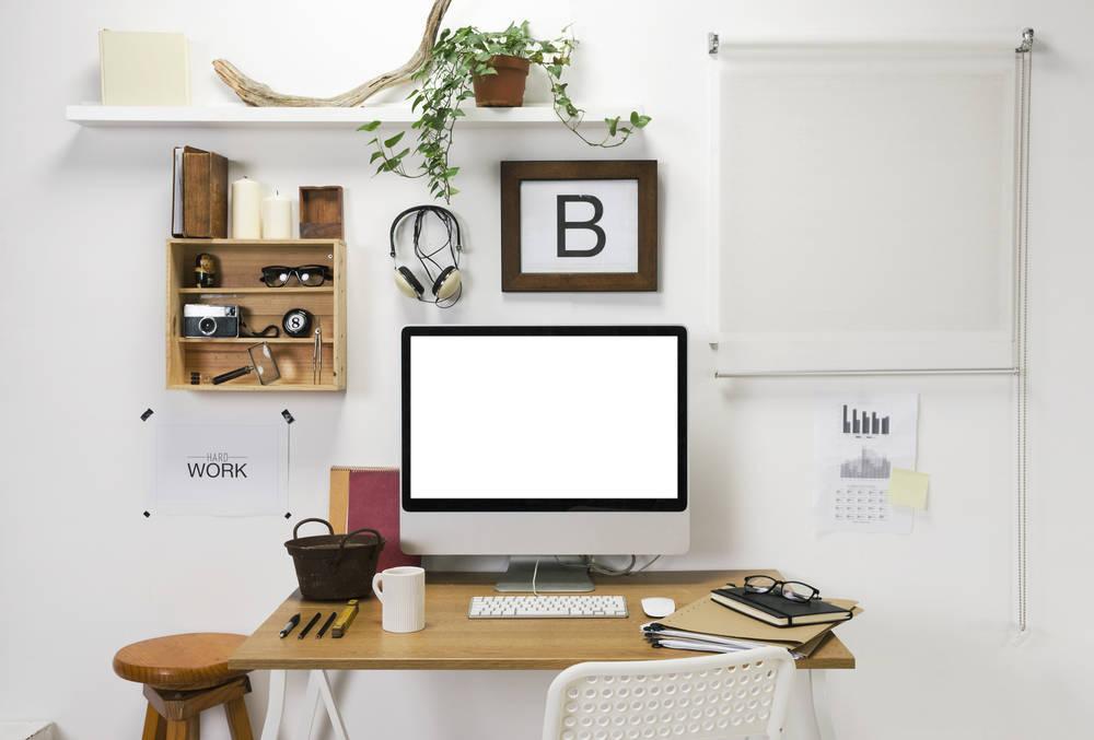 La oficina en casa. Te decimos cómo construir el espacio perfecto
