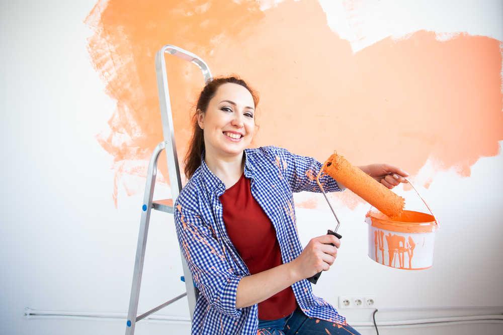 Cinco consejos para pintar una casa
